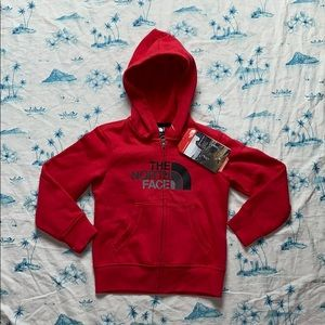 The North Face Toddler Logo Full Zip Hoodie